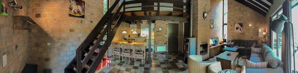 Kindvriendelijke vakantiehuis in Domein le Boulac bij Durbuy in de Ardennen